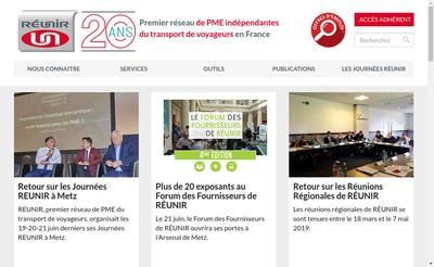 Site internet de Reunirassurance