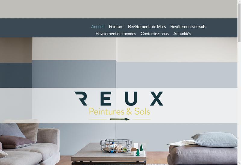 Capture d'écran du site de Entreprise Andre Reux