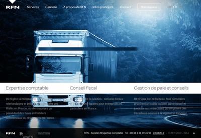 Site internet de Rfn - Societe d'Expertise Comptable