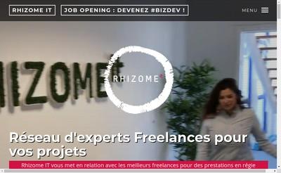 Site internet de Rhizome It