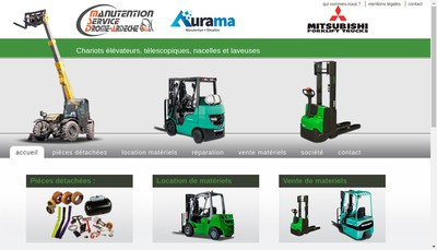 Site internet de Aurama