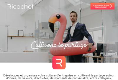 Site internet de Ricochet