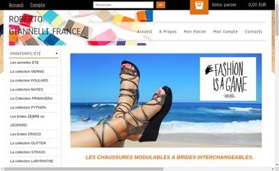 Site internet de Roberto Giannelli France