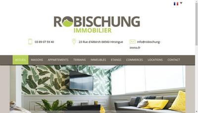 Site internet de Robischung Immo