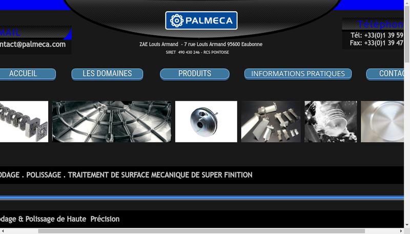 Site internet de Palmeca