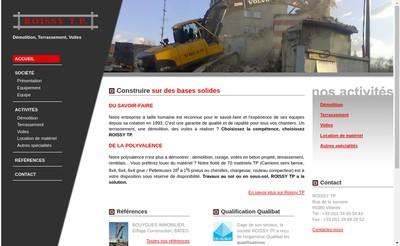 Site internet de Roissy TP