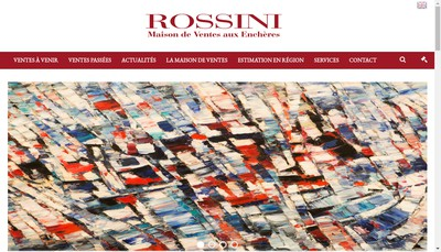 Site internet de Groupe Rossini