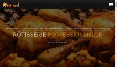 Site internet de Rotisol
