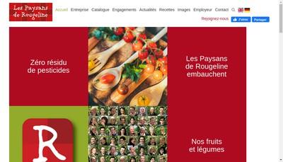 Site internet de Cooperative des Primeurs de la Crau
