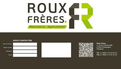 Site internet de Menuiserie de Batiment Roux Freres