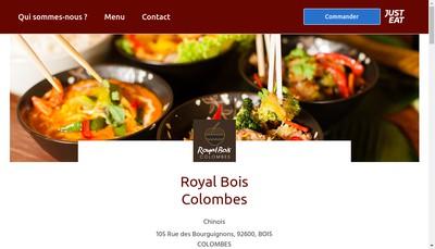 Site internet de Royal Bois Colombes