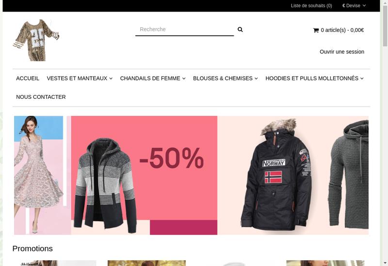 Capture d'écran du site de RSL Automobiles