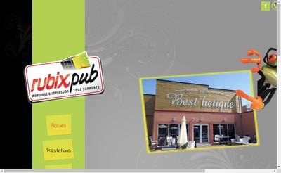 Site internet de Rubix Pub