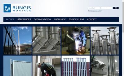Site internet de Rungis Montage