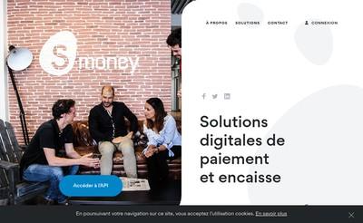 Site internet de S-Money