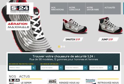 Capture d'écran du site de S 24