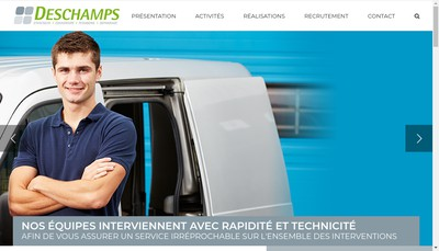 Site internet de Deschamps