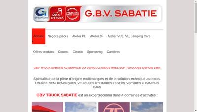 Site internet de Sabatie