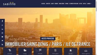 Site internet de Syndic Administration de Biens Immobiliers