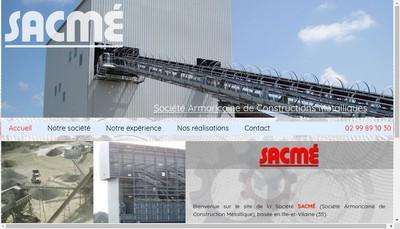 Site internet de Etablissements Menaut - Societe Armoricaine de Constructions Metalliques