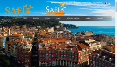Site internet de Safi Accueil Immo