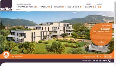 Site internet de Safilaf SA