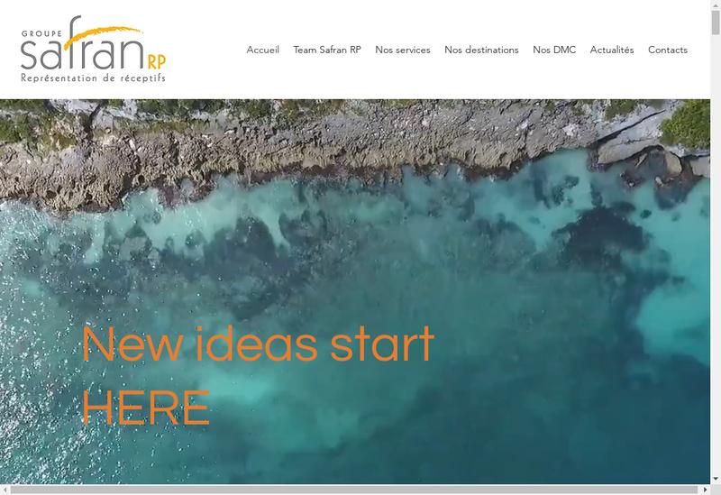 Capture d'écran du site de Mice Pro