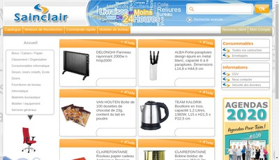 Site internet de Sainclair