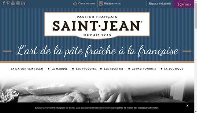 Site internet de Ravioles Royans - Raviole St Jean Royans