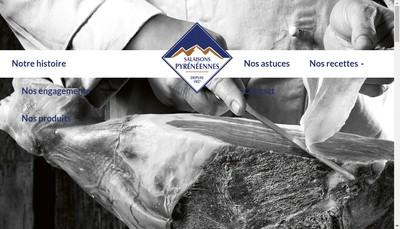 Site internet de Salaisons Pyreneennes