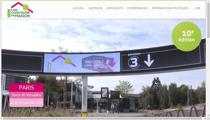 Capture d'écran du site de Atha Batiment