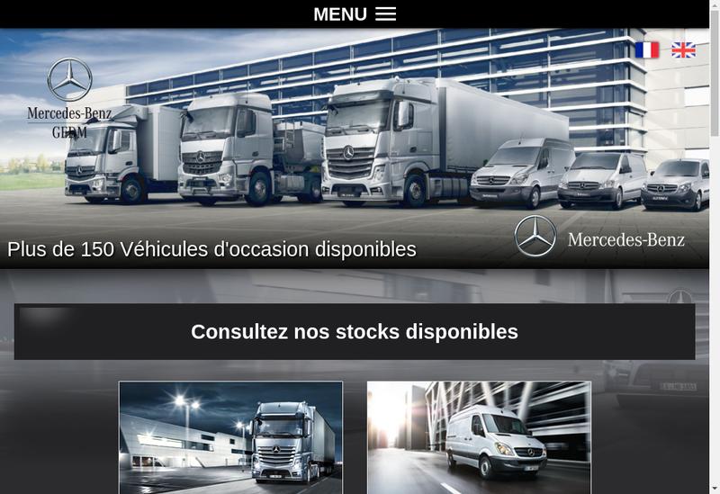 Capture d'écran du site de Sami Bretagne