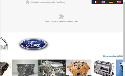 Site internet de Sapaic Industries