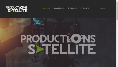 Site internet de Satellite Productions