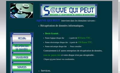 Site internet de S@Uve Qui Peut