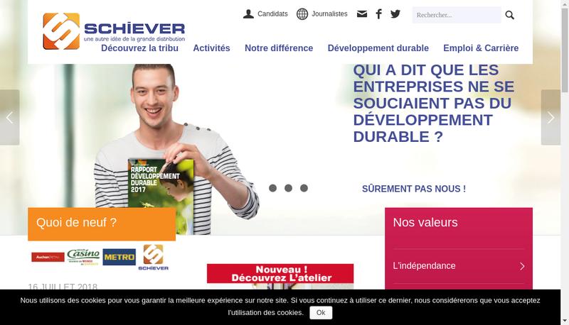 Capture d'écran du site de Maxibrico