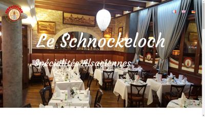 Capture d'écran du site de Le Schnokeloch