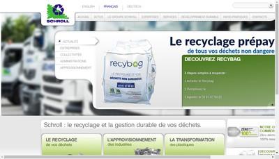 Site internet de Louis Schroll