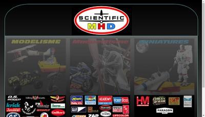 Site internet de Scientific Mhd