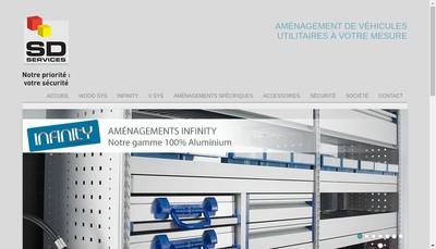 Site internet de Sd Services