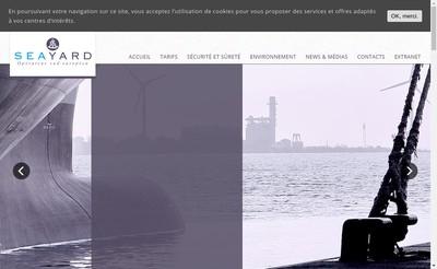 Site internet de Seayard
