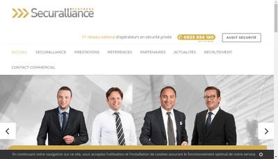 Site internet de Securalliance