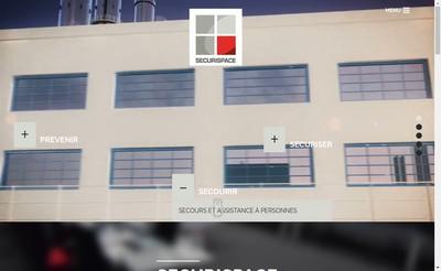 Site internet de Securispace Gestion