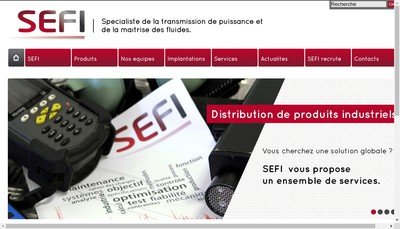 Site internet de Sefi Transmission