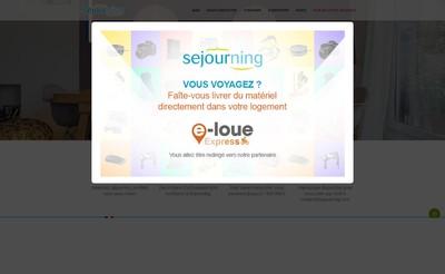 Site internet de Sejourning
