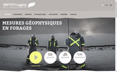 Site internet de Semm Logging