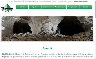 Site internet de Semofi