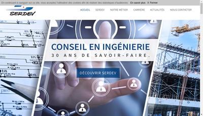 Site internet de Societe Etude Recherche Developp