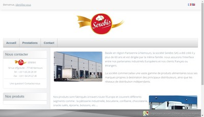 Site internet de Serebis