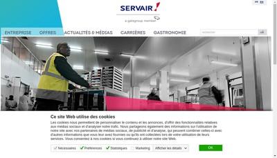 Site internet de Orly Air Traiteur